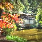 Covered Bridge by Noble Upchurch