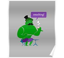 SMASHING HULK! Poster
