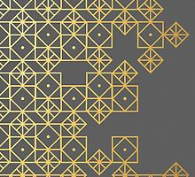 Geometric Gold by Cat Coquillette