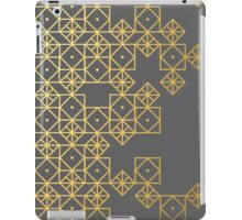 Geometric Gold iPad Case/Skin
