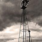 Farm Market Windmill by SRowe Art