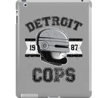 Cops team iPad Case/Skin