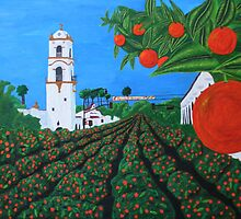 Parade of Oranges by Guy Wann