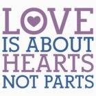 Love Hearts, Not Parts by Alex Papanicola