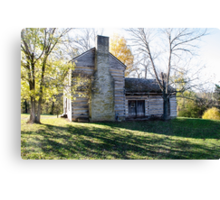 Abraham Lincoln's Birthplace Canvas Print