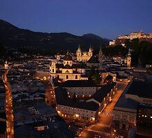 A Summer Night in Salzburg by Emma Stone