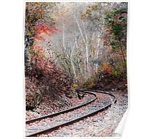Autumn Tracks Poster