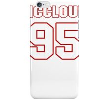NFL Player Anthony McCloud ninetyfive 95 iPhone Case/Skin