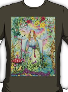 Mother Gaia, she holds everything in her hands T-Shirt