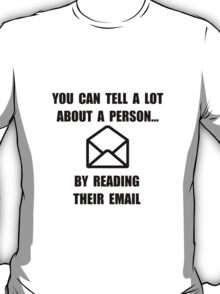 Read Their Email T-Shirt