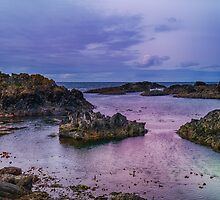 Rocks at Ballintoy Harbour in Northern Ireland by Alan Campbell