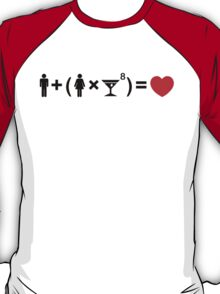 The Love Equation for Women T-Shirt