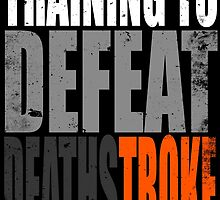 Training to DEFEAT DEATHSTROKE by Penelope Barbalios