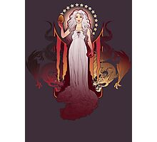 Our Mother of Dragons Photographic Print
