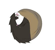 Sleepy ferret by Kiwishes