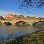 River Avon, Evesham by RedHillDigital