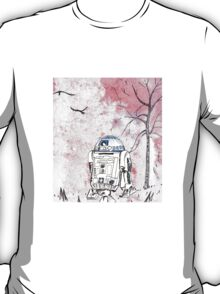 Romantic R2D2 T-Shirt