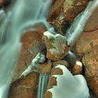 Winter, Crystal Brook Falls by Kevin McGennan