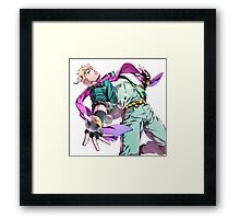 Caesar Anthonio Zeppeli - Jojo's Bizarre Adventure Part 2: Battle Tendency Framed Print