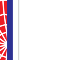 L letter in Spider-Man style Sticker