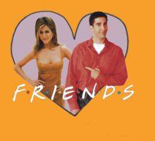 Friends - Rachel & Ross by punksterpie