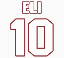 NFL Player Eli Manning ten 10 by imsport