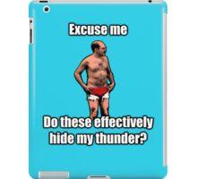 Tobias The Never nude iPad Case/Skin