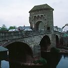 Toll Bridge from side Monmouth Wales 198405180052 by Fred Mitchell