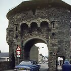On Toll Bridge Monmouth Wales 198405180053 by Fred Mitchell
