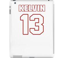 NFL Player Kelvin Benjamin thirteen 13 iPad Case/Skin