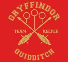 Quidditch - Gryffindor - Team Keeper by Divum