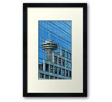 Needle Reflection Framed Print
