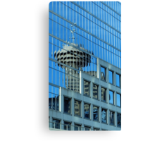 Needle Reflection Canvas Print