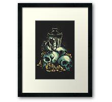 Black Out Framed Print
