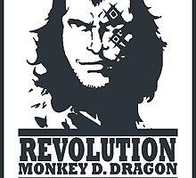 Monkey D. Dragon X Che 2.0 by carlson123