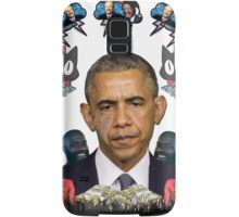 mc obama [featuring dr phil, lil b, and mathew knowles in a cloud] Samsung Galaxy Case/Skin