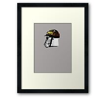 BORN TO KILL: trooper Framed Print