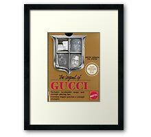 Legend of Gucci Framed Print