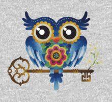 Spring Guardian Owl T-Shirt
