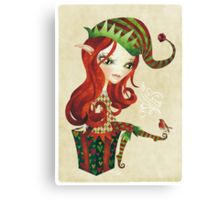 Elfie Elf Canvas Print
