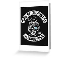 Sons of Chemistry Greeting Card