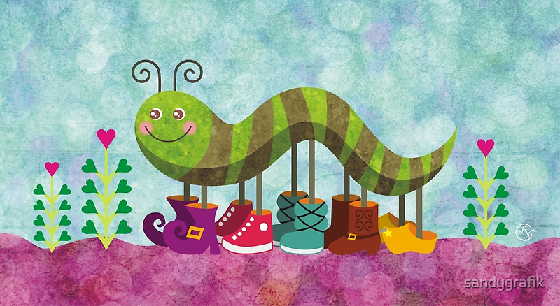 Catty Caterpillar by sandygrafik