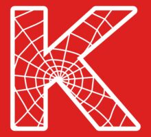 Spiderman K letter by Stock Image Folio