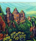 Timeless Blue Mountains by © Linda Callaghan
