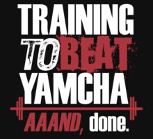 Training to beat Yamcha, aaaand done by Lamamelle2nd