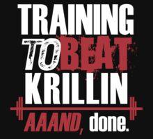 Training to beat Krillin, aaaand done by Lamamelle2nd