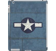 Vintage Look USAAF Roundel Graphic iPad Case/Skin