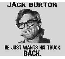 JACK BURTON Photographic Print
