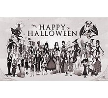 Ladies of Halloween! Photographic Print