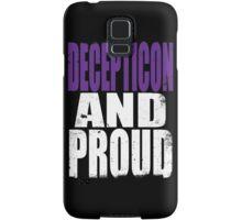 Decepticon AND PROUD Samsung Galaxy Case/Skin